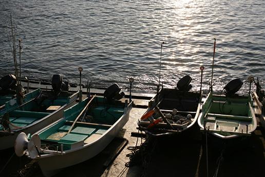 Fishingvillageatdawn